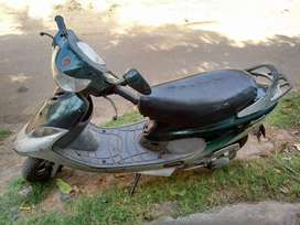 It is TVS pept it has very good mileage than other scooty