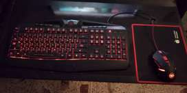 redragon s101 gaming combo mouse and keyboard complete box