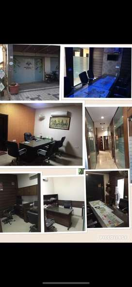 Fully furnished office for sale and RENT