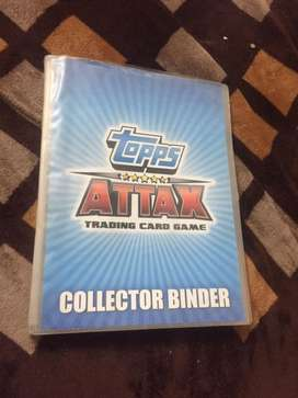 All types of Slam attax cards, real cost ₹1500 ,giving along with file