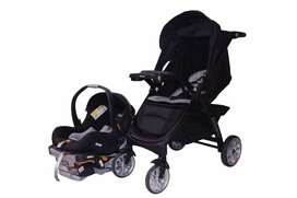 Bravo-Chicco stroller, car-seat and baby chair