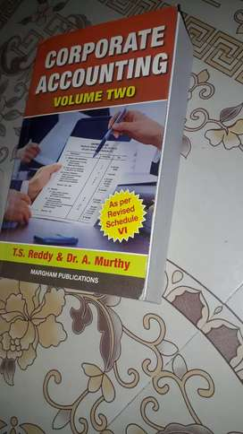 Corporate accounting volume two