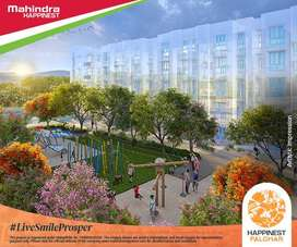 Studio & 1 BHK starting ₹9.45L + Zero Charges at Happinest Palghar