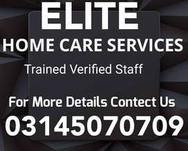 ELITE) Provide Patient Care, Helper, Driver, Maid, Cook Available