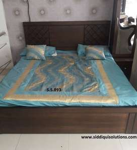 New design Brand new queen size bed best in quality with storage