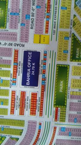 Commercial 61/C Block  Plot Is Available For Sale In Bahria Orchard