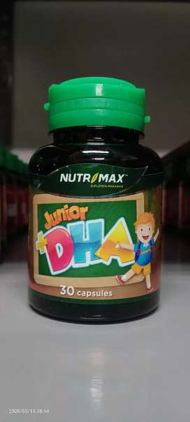 Nutrimax Junior + DHA Isi 30 Naturecaps Nutrisi Otak Anak