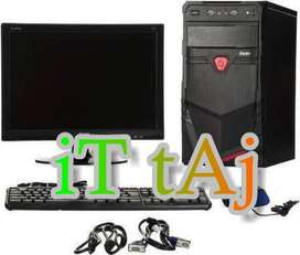 NEW PC SET (i7 2ND/4GB/500GB+LED+KBNM) WITH WRTY AT 16800//MARCH OFFER
