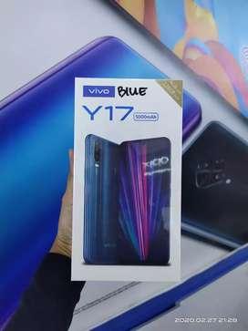 Vivo y17 cashback 200k 4/128 bisa cod,tt,kredit