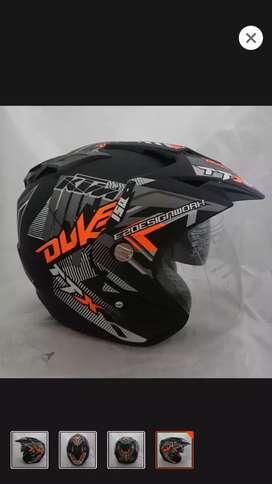 Helm KTM keren dobel visor