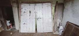 Shop main front door  81×86 inch