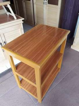 Jual meja susun 2 ukuran 40x60 cm tinggi 75 cm