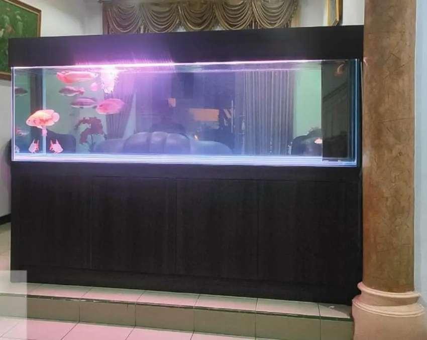 Aquarium Kabinet 200cm (Kaca Full 12mm)