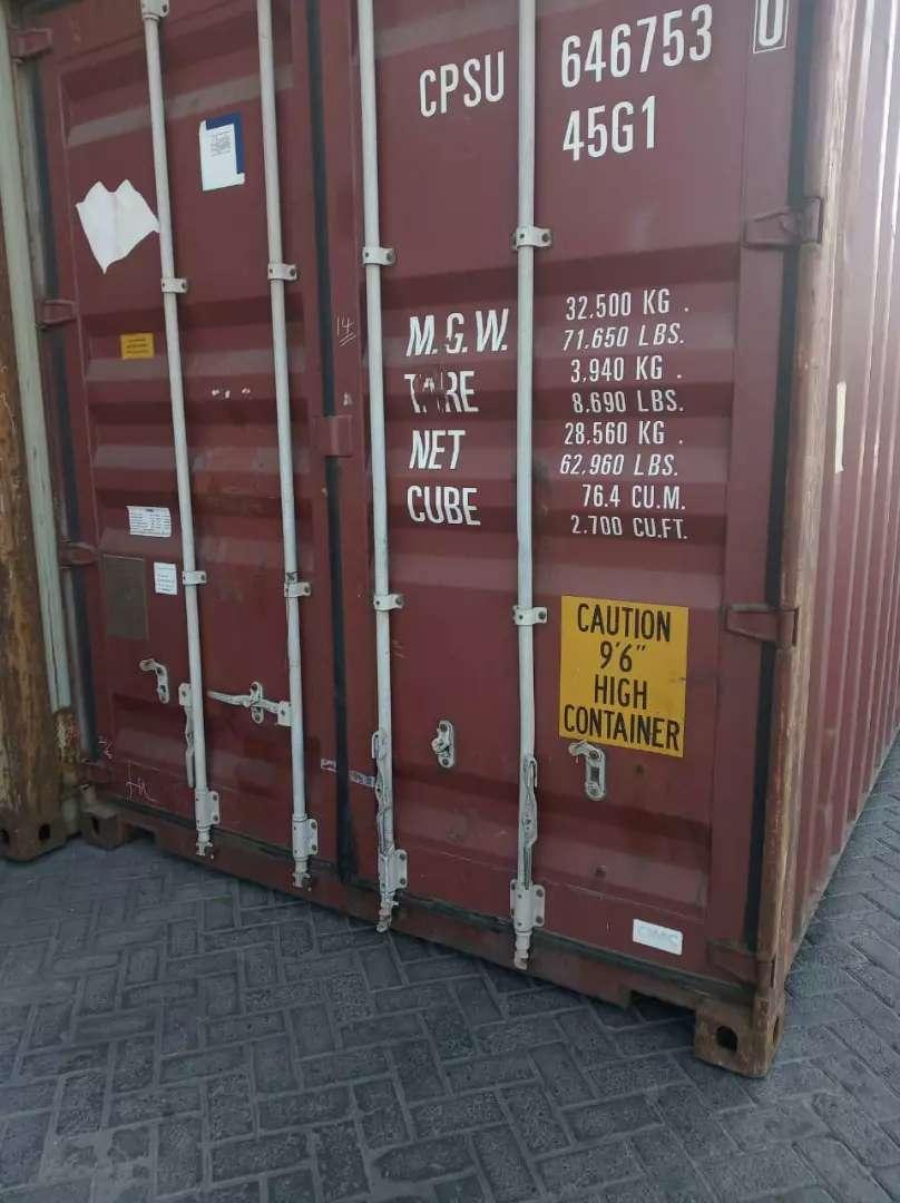 Pusat Container Bekas Termurah 40 ft 0