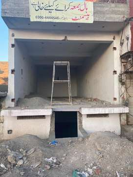 Hall with basement for rent