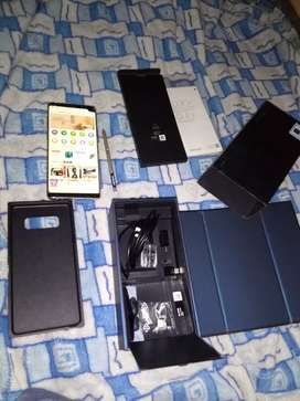 Samsung Galaxy Note 8 6/64 PTA approved with complete box urjent sale!
