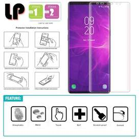 Casing Screen Guard Hydrogel Tempered Glass Samsung Galaxy Note 9