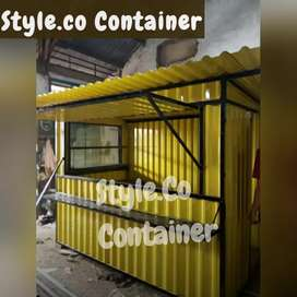PROMO TAHUN BARU | BOOTH CONTAINER CUSTOM | CONTAINER FOOD AREA |