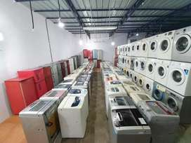 Refurbished washing machines and refrigerator for sale