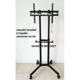 bracket-tv-kenzo-kz56-murah tiang berdiri pakai roda