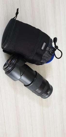 Sony Lensa SEL 18-200mm f3.5m-5.6 LE (harga nego)