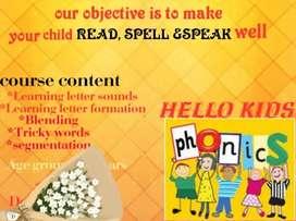 Phonics in English language