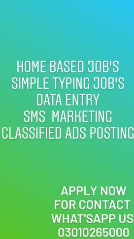 Authentic working from home with laptop or mobile data entry job daily
