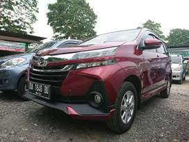Daihatsu xenia R new 2019 manual warna merah marun