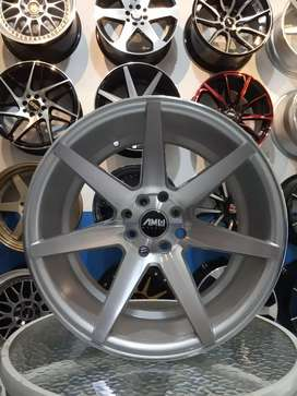 Jual velg Amw wheels ring 17x7.5/9 hol 8x4.100/114.3 et 35