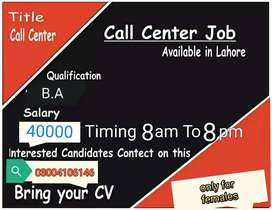need female staff for call center
