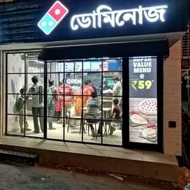 Dominos pizza.BARSAT near by milenium daigonostic