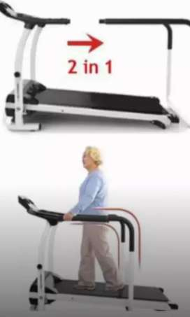 Treadmill elektrik handlefitt teraphys 50 pesantren