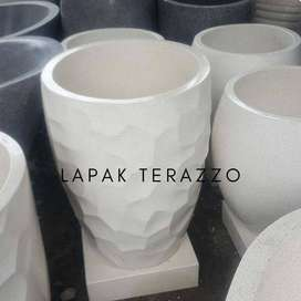 Bak mandi terazzo type sarang lebah limited edition