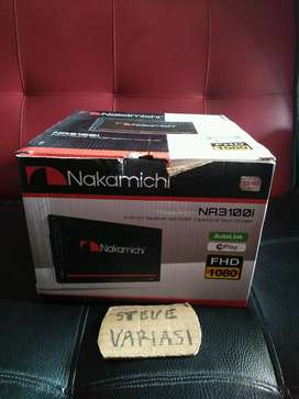 Nakamichi Double Din Full HD Full Glass Autolink by Steve Variasi Olx