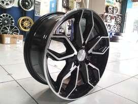 toko velg racing sirion ring 16 warna black machine face free ongkir
