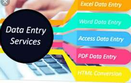Need a fast data entry person.