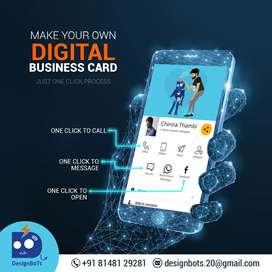 Digital Business Card Design
