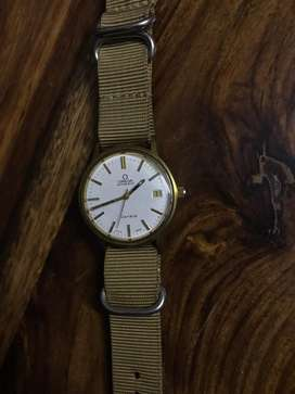 Omega geneve cal 1012 vintage, automatic, keeping accurate time