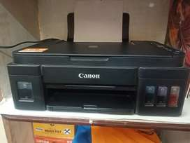 Cannon pixma ink efficient 3 in 1 printer G2012