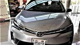 Toyota Corolla Altis Grande On Easy Monthly Installment