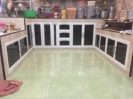 Kitchen set bahan alumunium