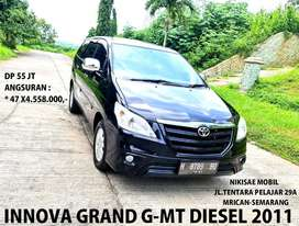 DP 55 Jt TERMURAH!! Grand New Innova Diesel ASLI type G/MT-2012,Plat H