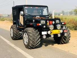Stylish modified willyz jeep