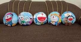 Cartoon cushions with frill
