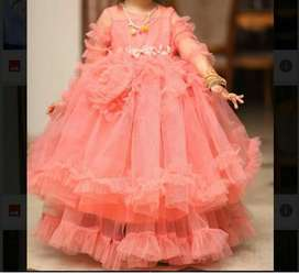 New princess frock for birthdays nd other wedding events