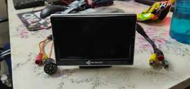 Rear Camera kit, 5 inch display with camera, For all type of cars.