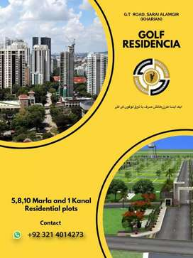 Golf  Residencia. Grand city with under ground electricity cables.