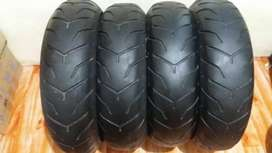 Imported Used Tyres for Bike and Car- Only 10% Used Tyres