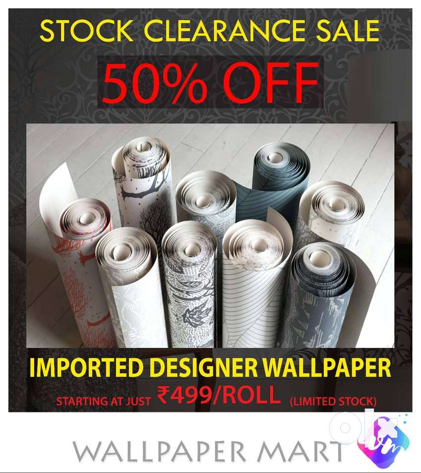Imported Korean Wallpapers @ just Rs.500/roll 0
