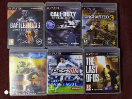 Ps3 games - pack of 6